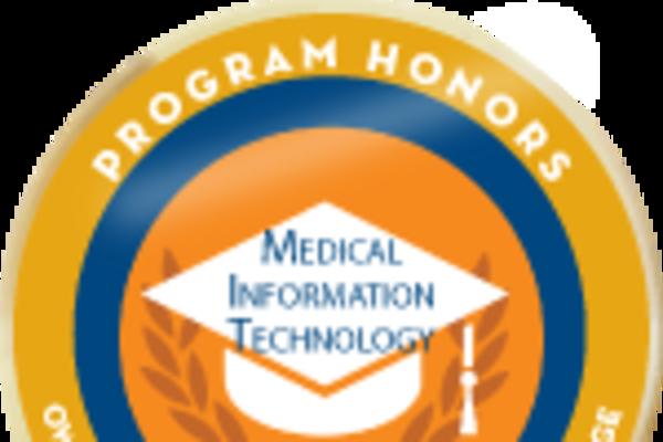 Badge honors med info tech