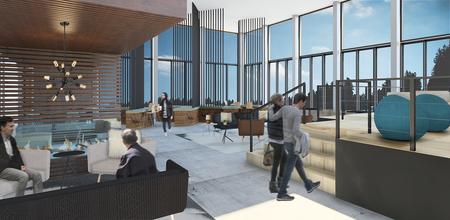 Arrowhead lobby lounge