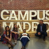 Google campus madrid with students
