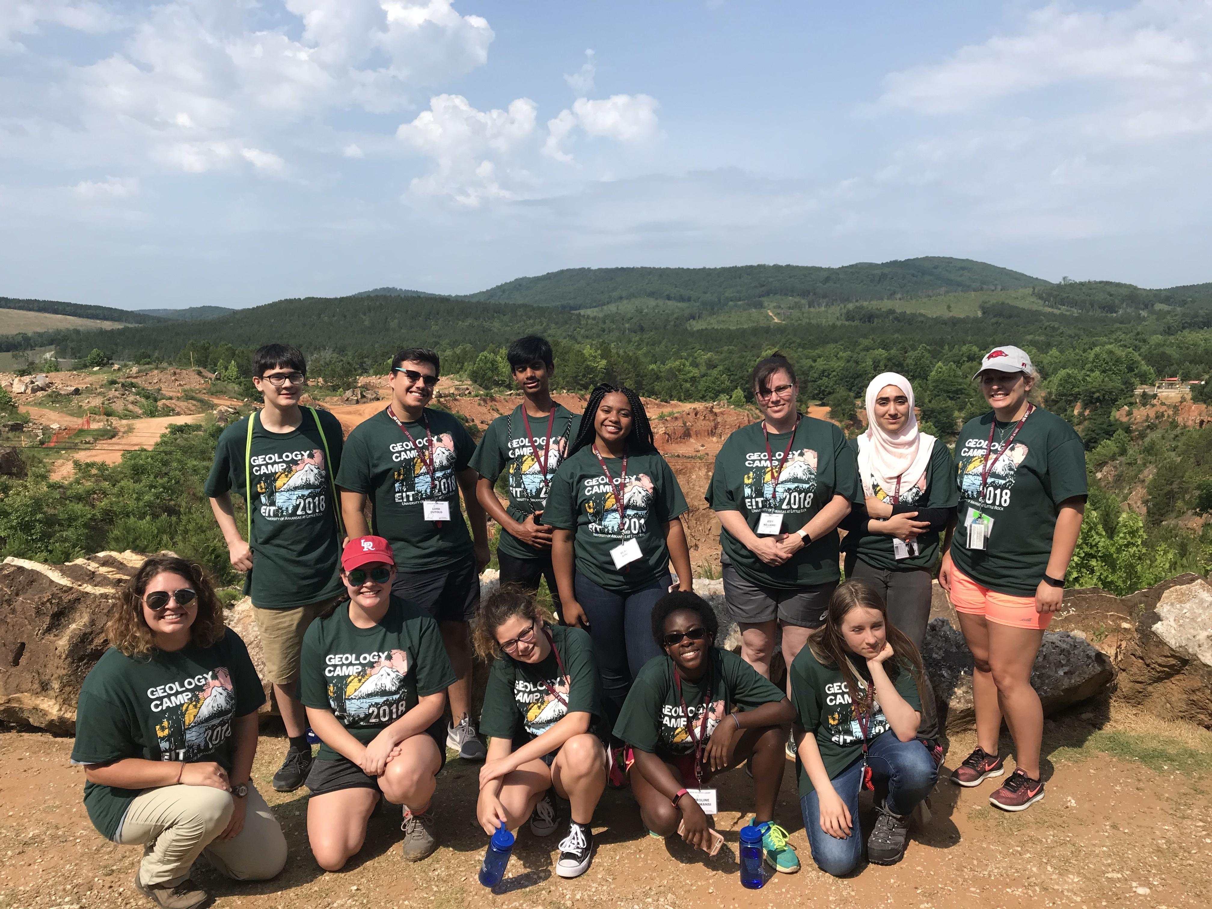 Geology camp