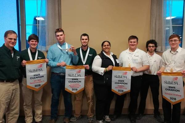 Vermont tech skillsusa statewide competition 2018