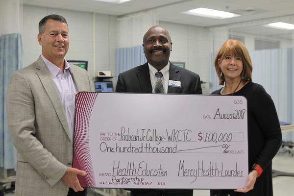 Mercy health lourdes donation