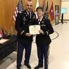 Distinguished honor grad