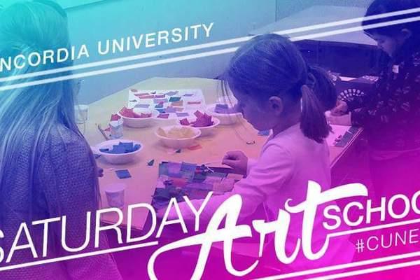 Saturday art school