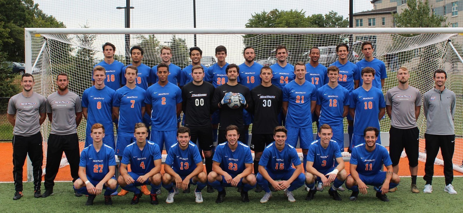 Team photo menssoccer2018