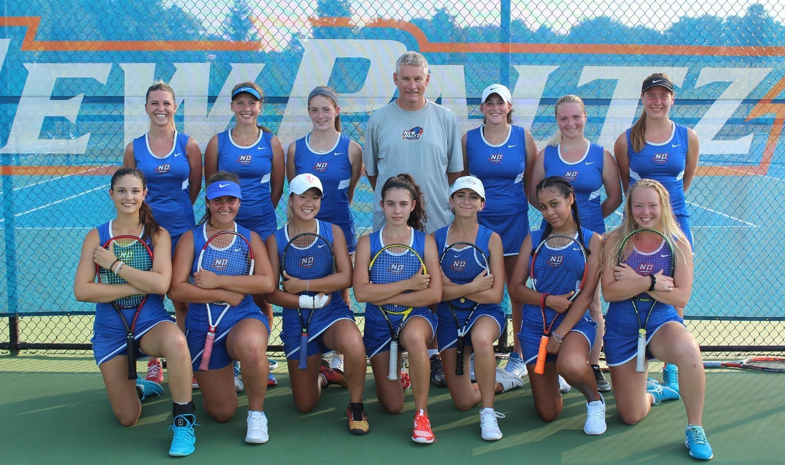 Team photo 2018 tennis