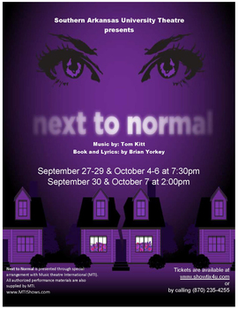 Next to normal poster