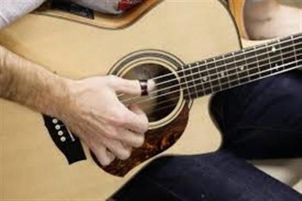 Fingerpicking guitar