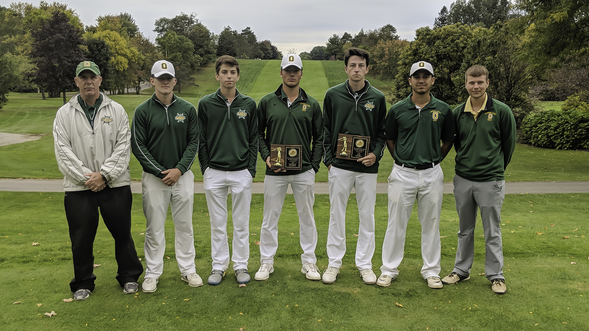 Golf oswego fall 2018 champs
