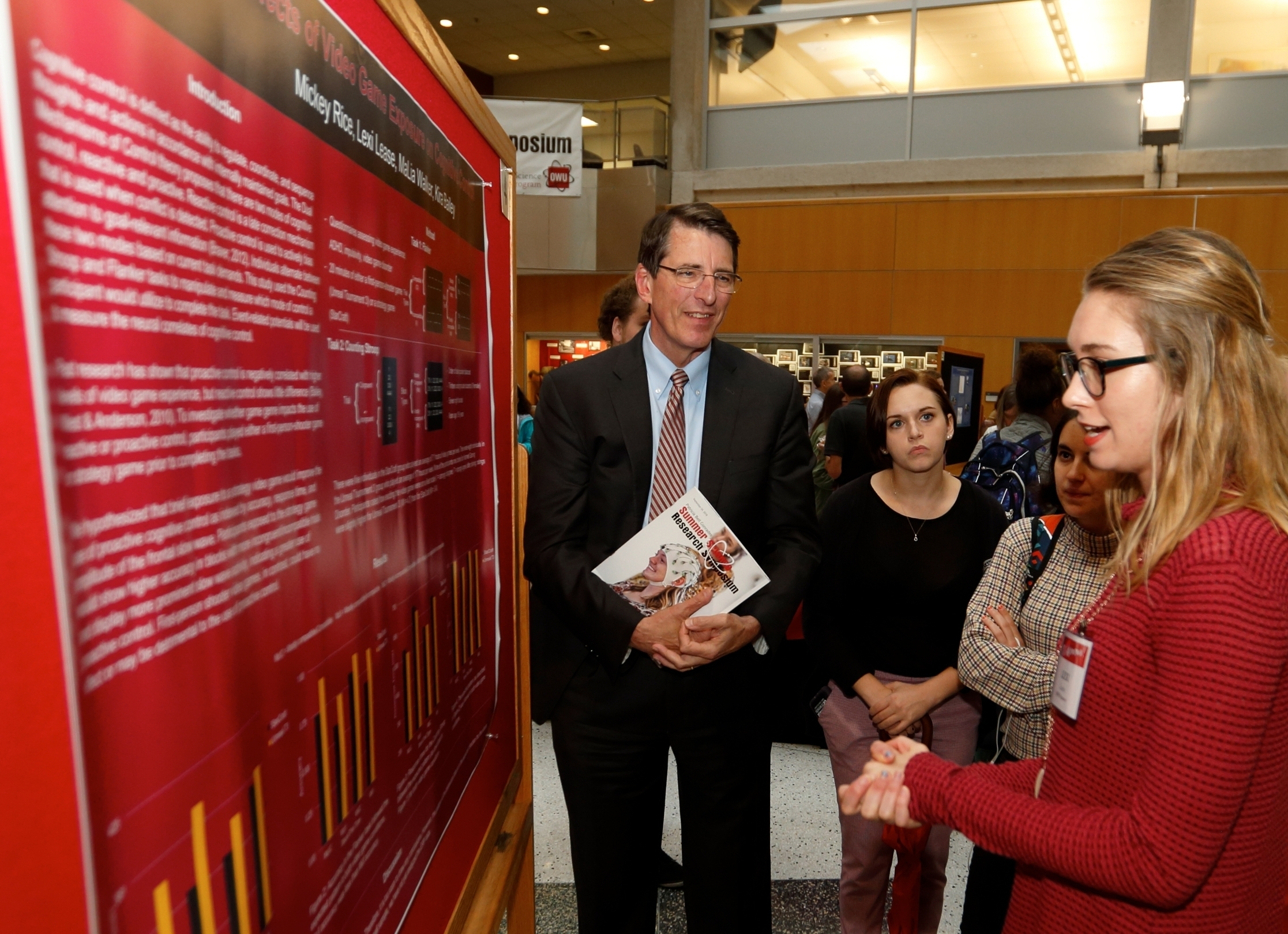 Owu summer science research symposium photo by paul vernon