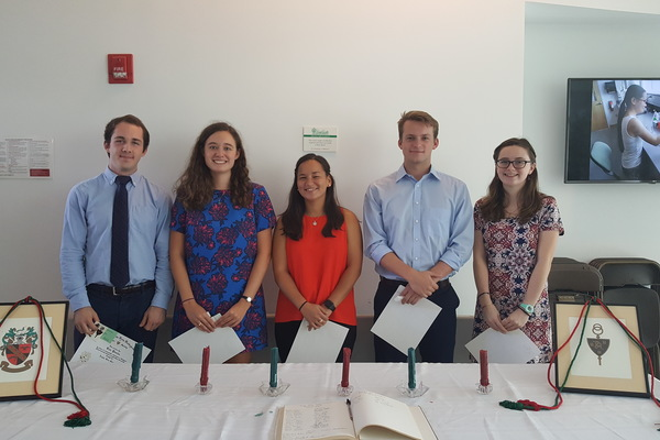 Fall 2018 inductees