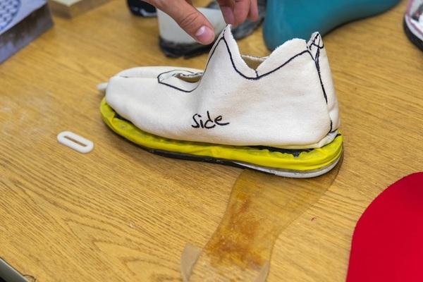 Shoe prototype a
