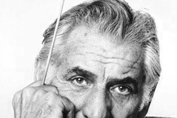 Leonard bernstein by jack mitchell