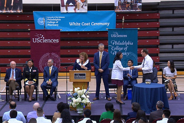 Pharmd white coat