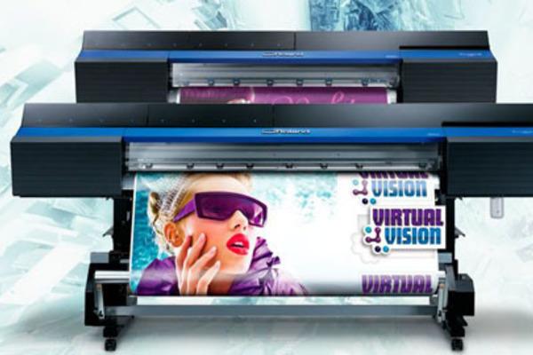 Roland vinyl printing