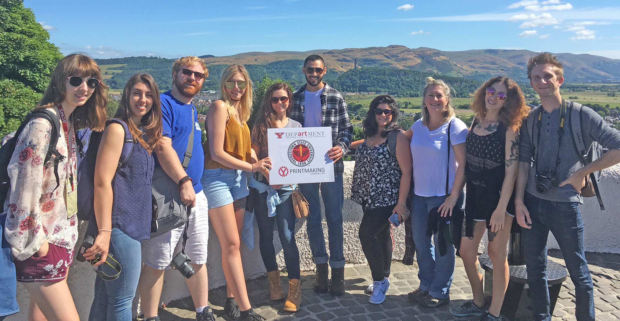 Scotland study abroad students