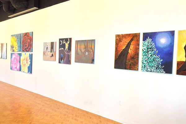 Brinson gallery with advanced studio exhibit 1