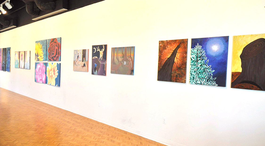 Brinson gallery with advanced studio exhibit 1