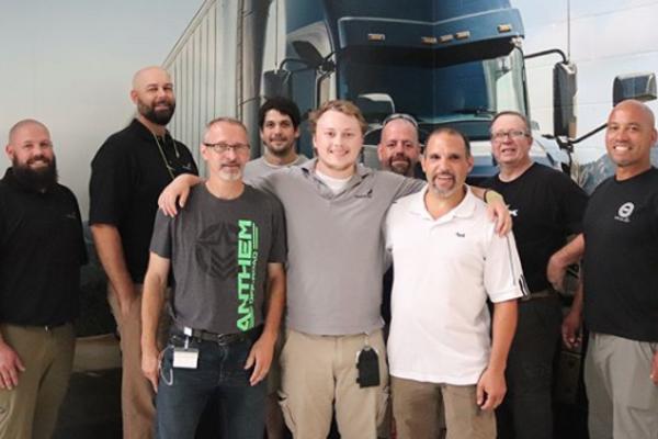 Mack truck intern