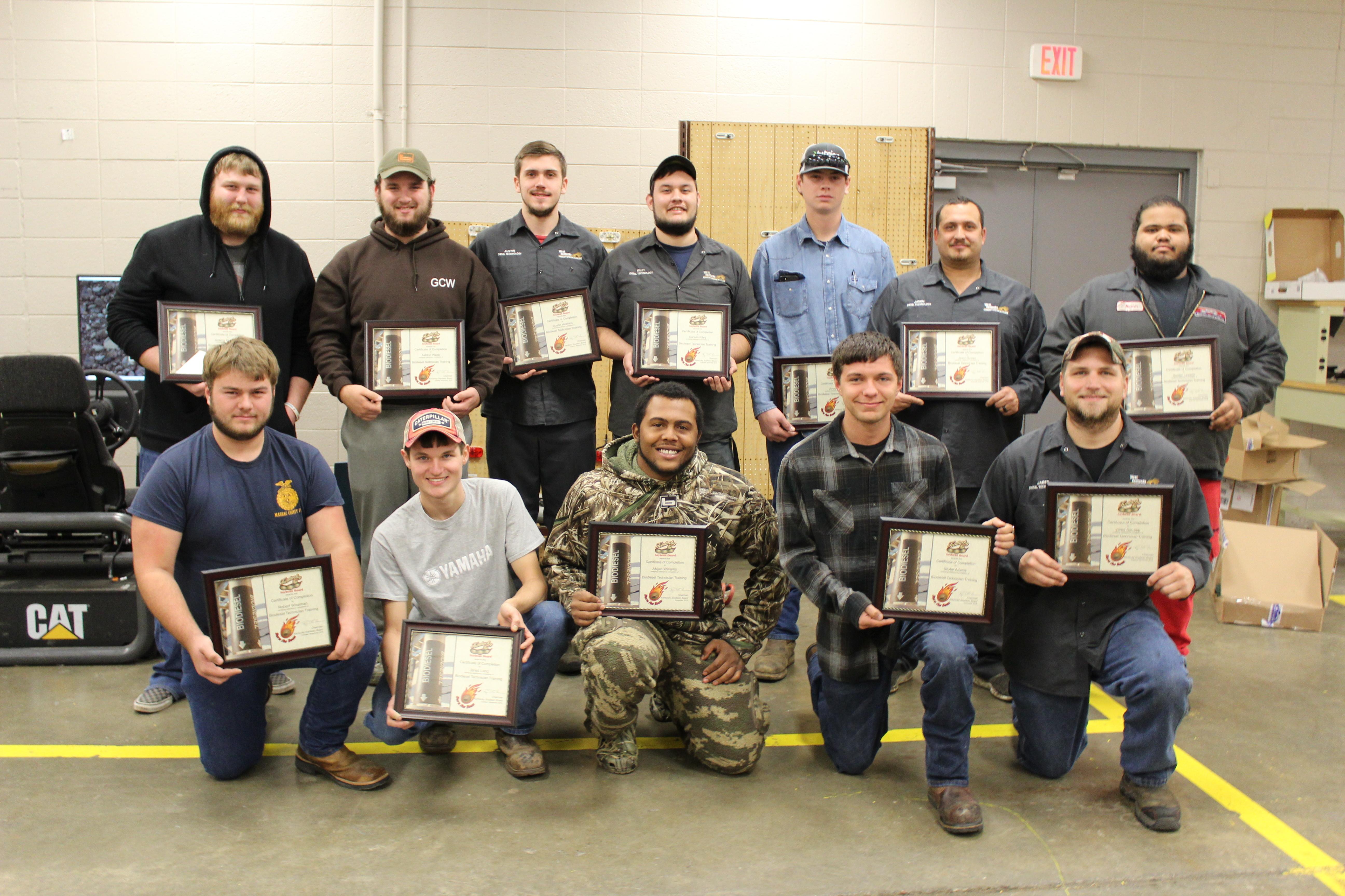 Diesel certificates