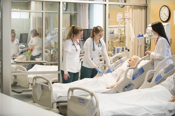 Nursing sim lab 2018