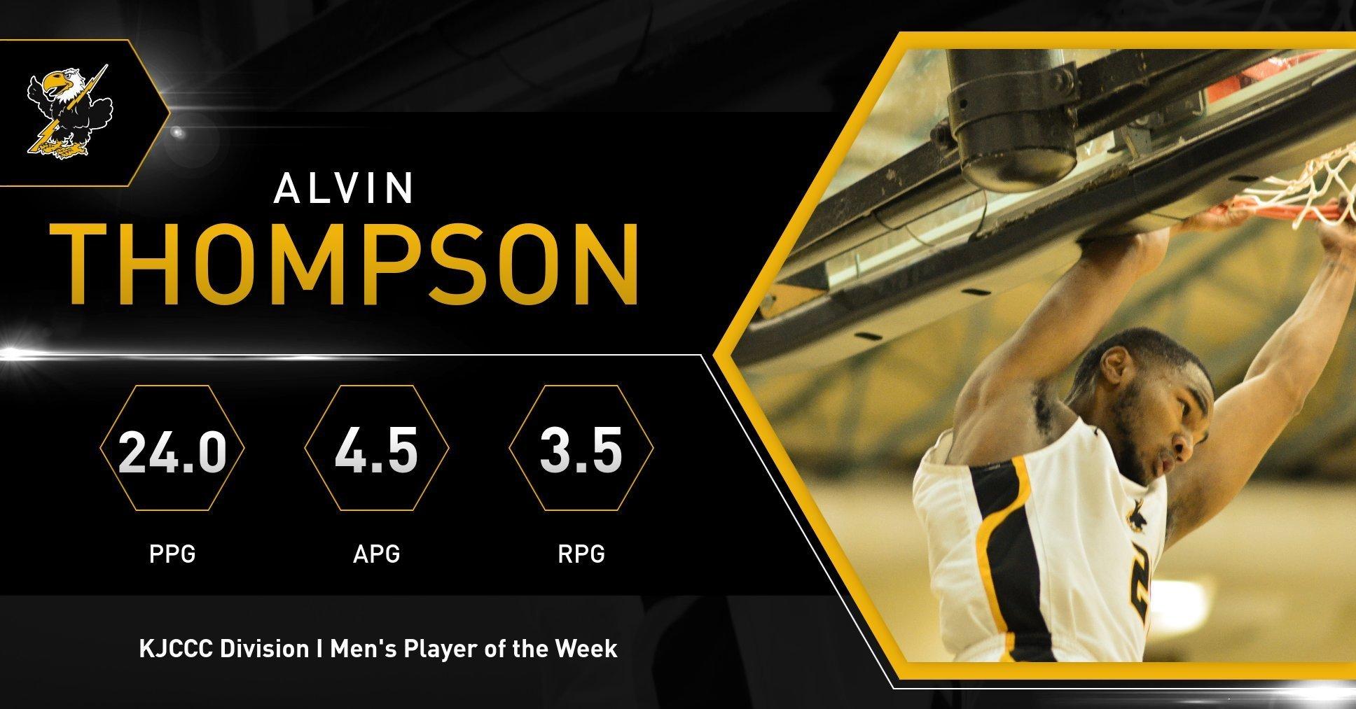 Alvin thompson  1 pow