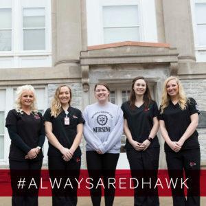 Nursing alwaysaredhawk2018 300x300