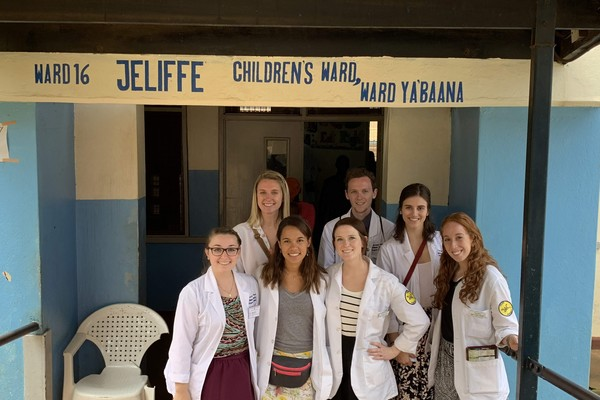 Group shot childrens ward