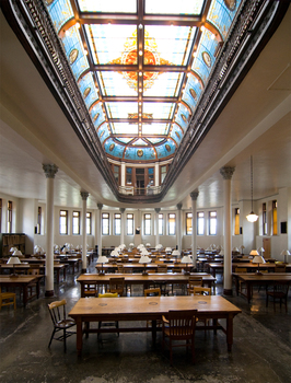Ohio wesleyan slocum hall reading room