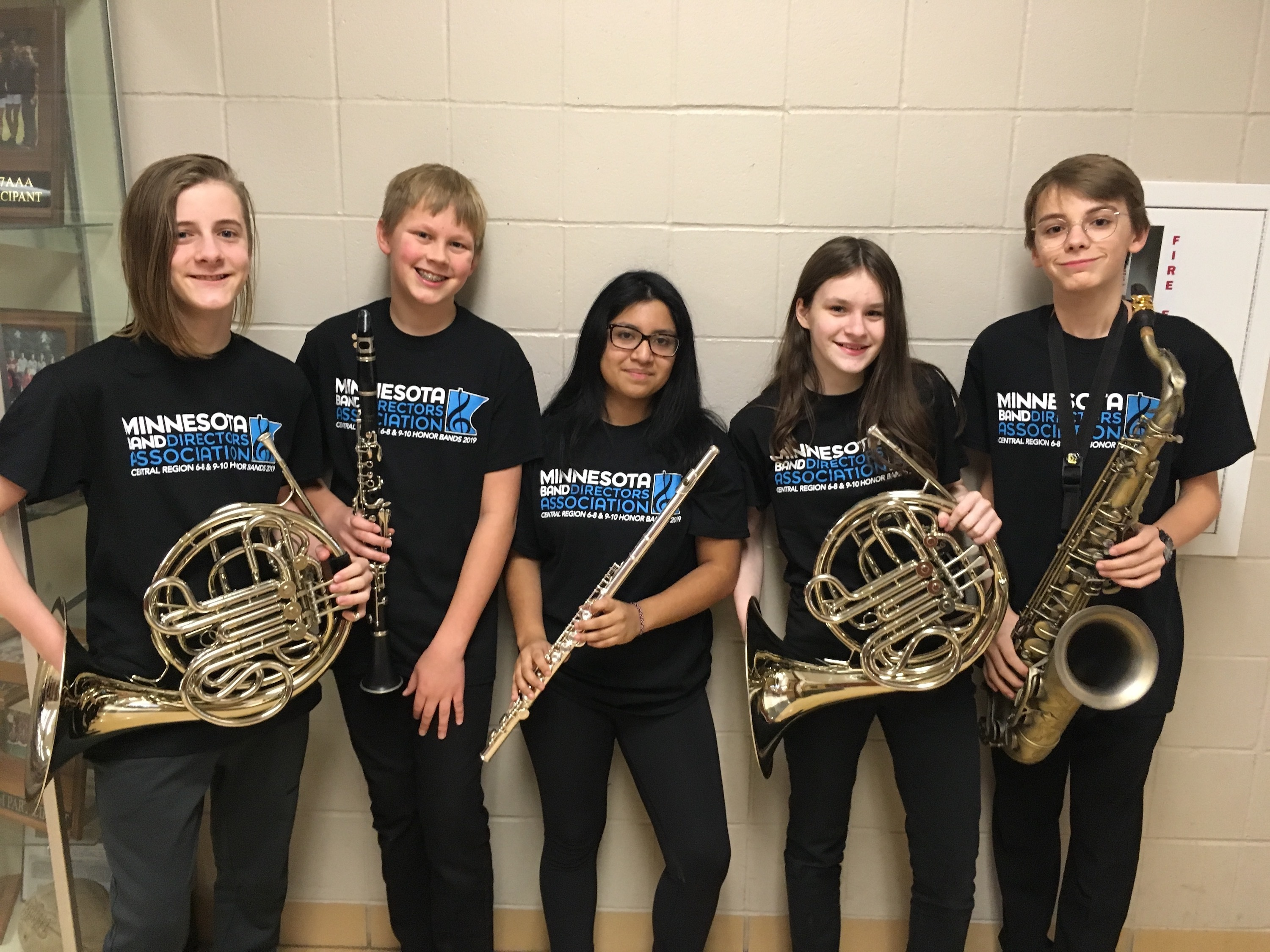 January 15 honor band for merit