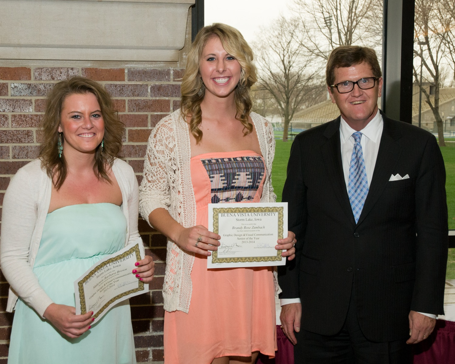 1401992732 c a graphic design   visual communication students of the year  makensie brown and brandy zumbach