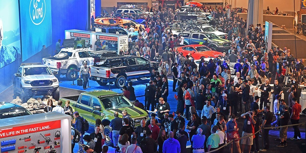 Aapex and sema trade shows