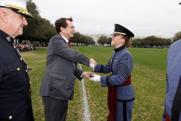 Zorn receiving cincinatti award