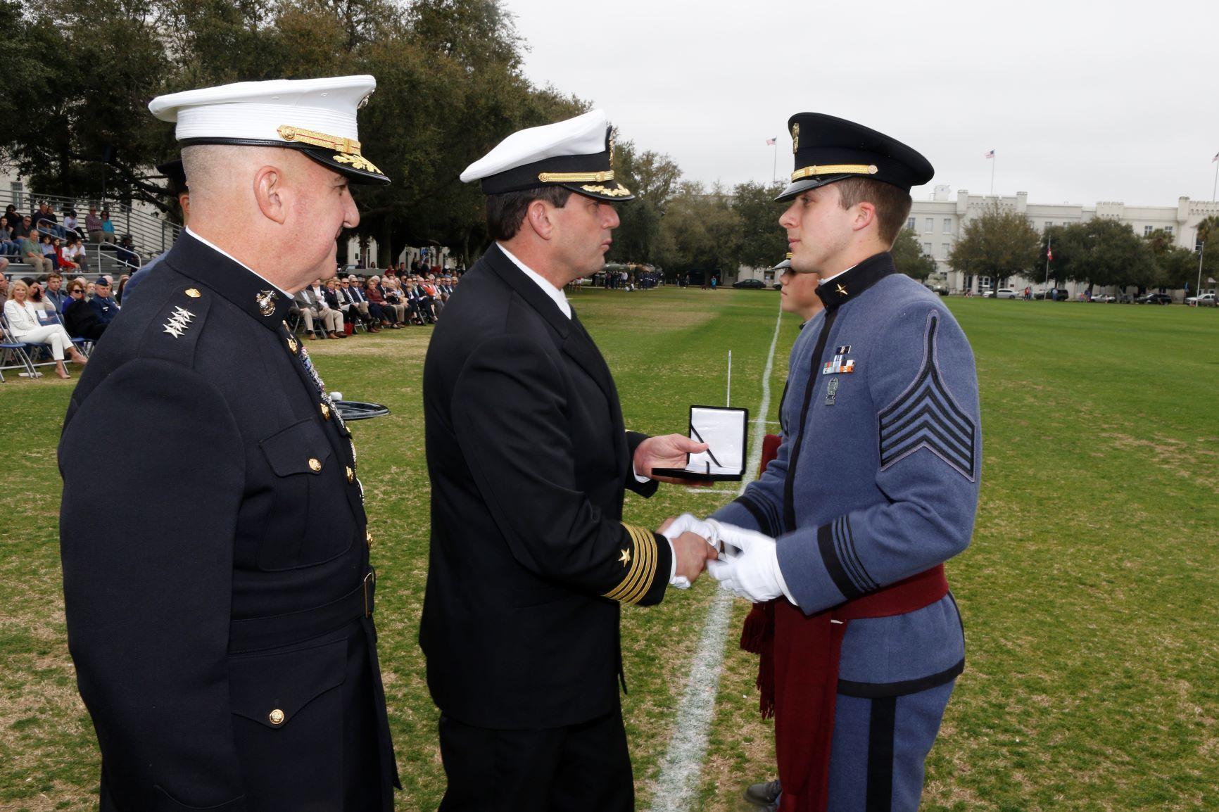 Felt receiving macarthur award