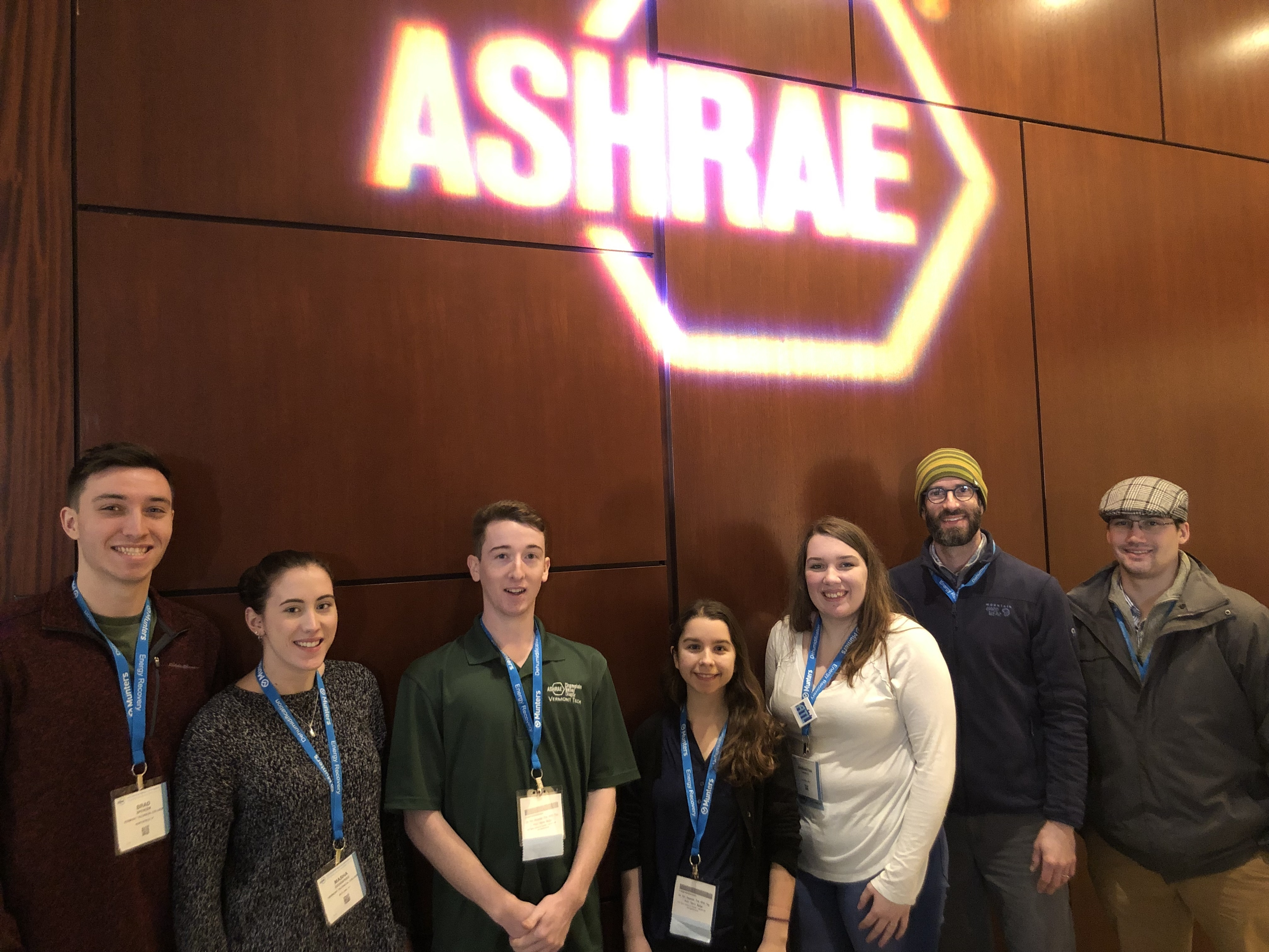 Ashre winter conference student attendees 2019