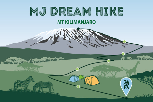 News features dream hike