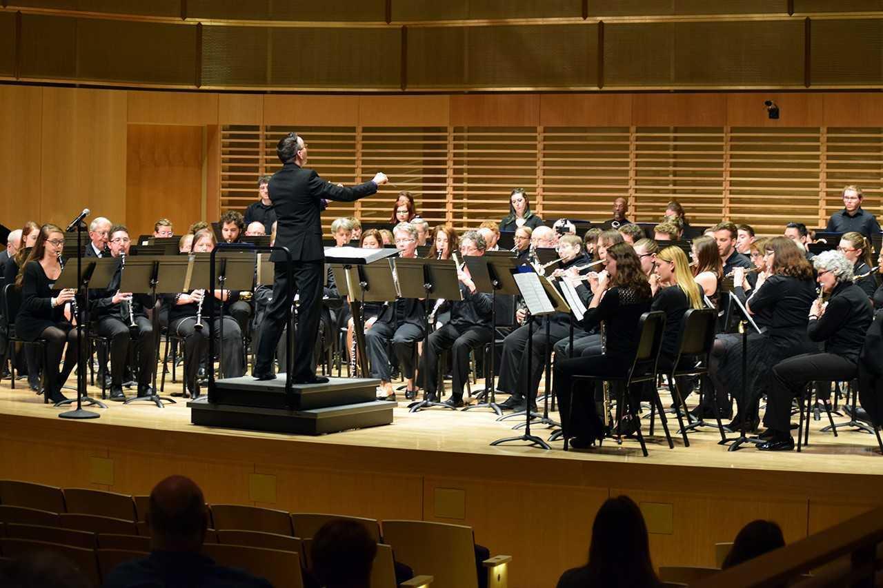 Concert band photo