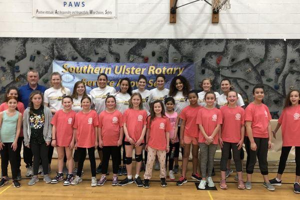 Volleyball volunteers