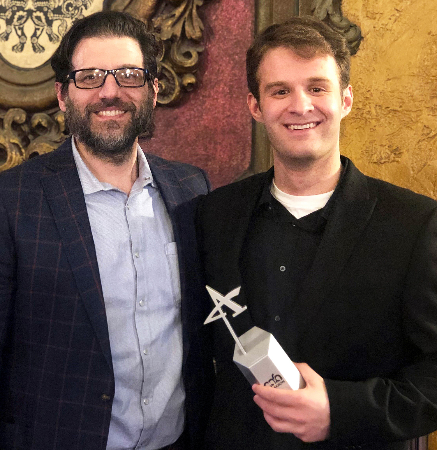 Mario ricciardi silver addy award crop219