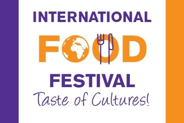 International food festival banner