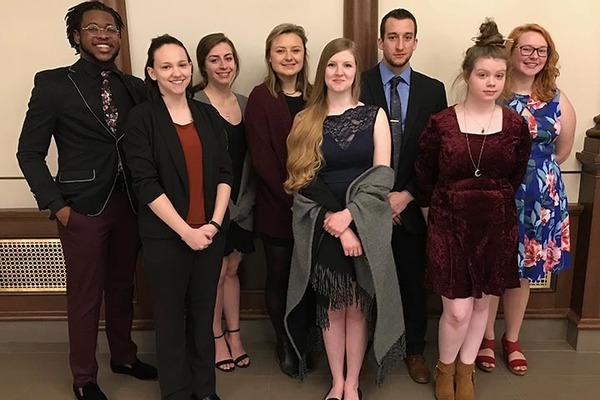 Psi chi inductees march 2019