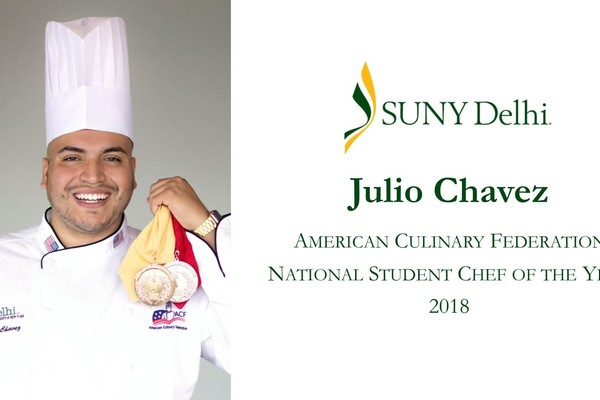 Julio chavez acf student chef of the year