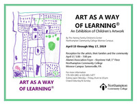 Art as a way of learning monroe invite