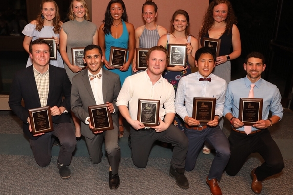 2019 dale bruce top 10 scholar athletes photo by lisa di giacomo