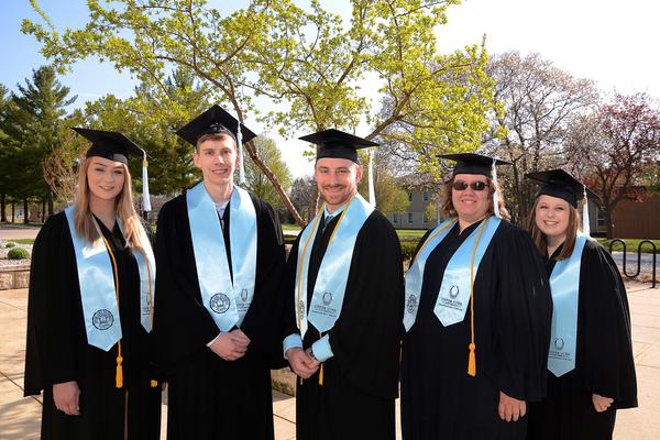 Csomay honor students media