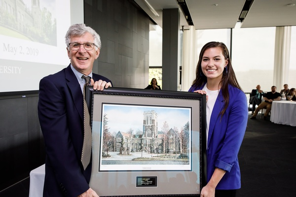 University service award