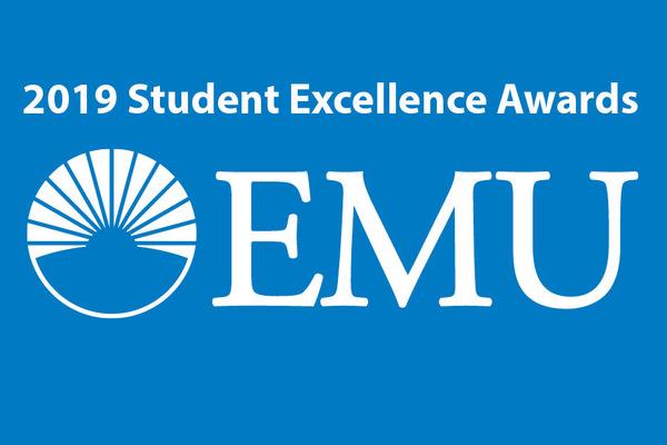 Merit student recognition graphic