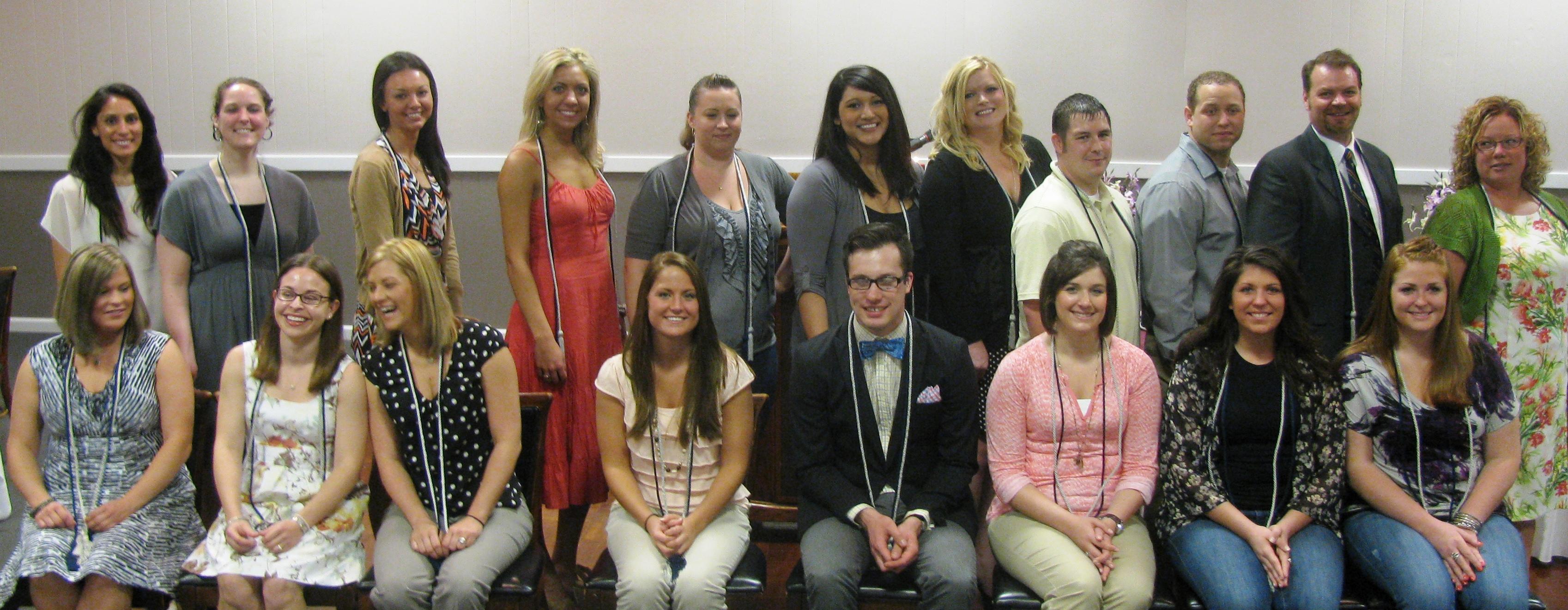 Honor society 2012 may group