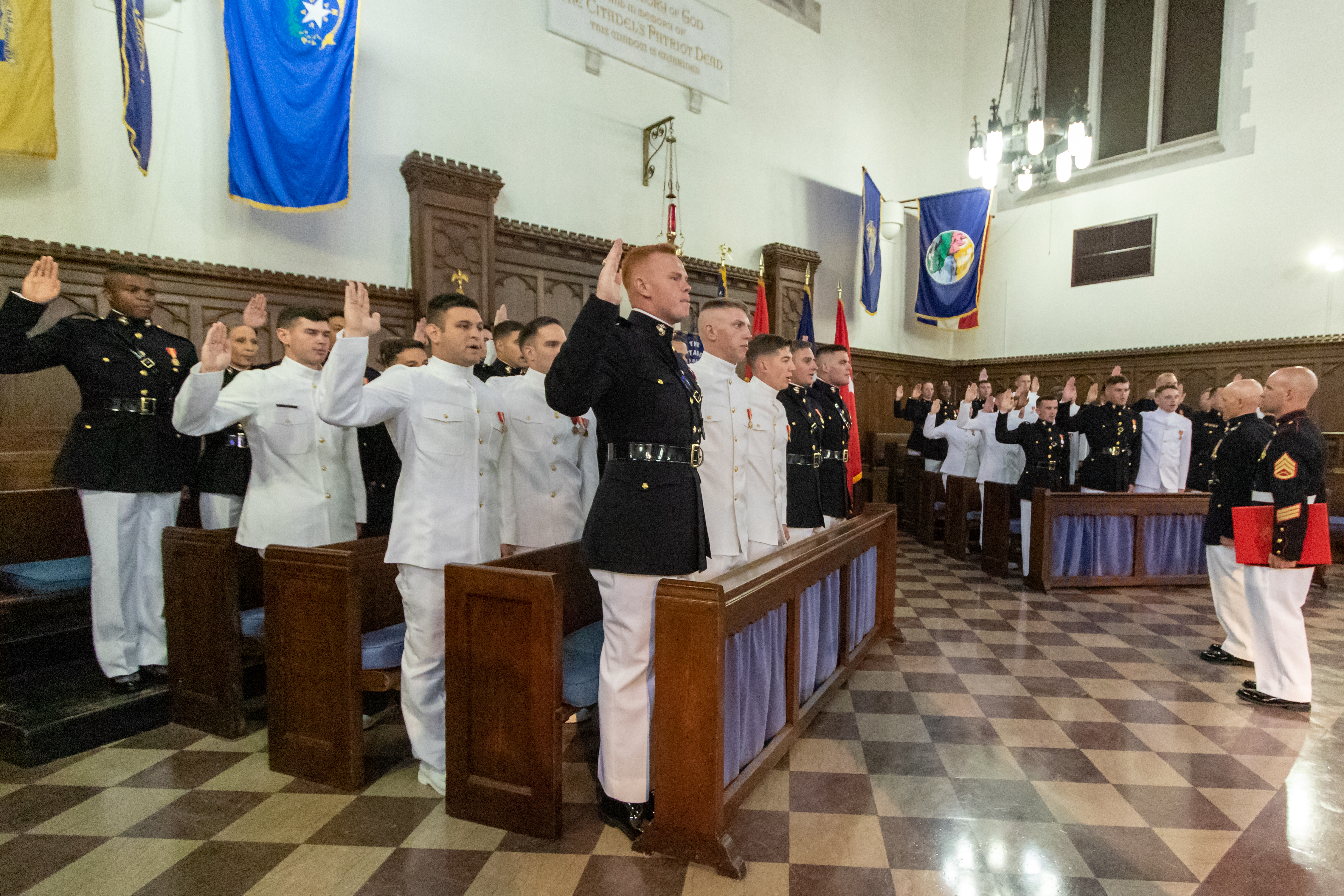Navy and marine corps commissioning ceremony 2019