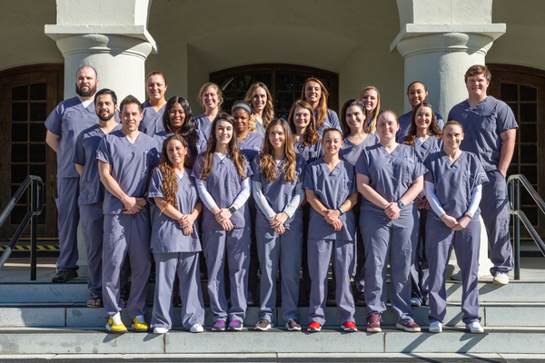 Citadel class of 2019   first class of bachelor of science in nursing graduates in history of citadel